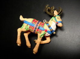 Carlton Cards Heirloom Ornament Northland Journey Prancer Boxed One of T... - $10.99