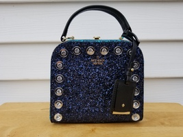 NWT Kate Spade Multi Skyline Way Violina Satchel and Crossbody Navy - ₨11,680.40 INR