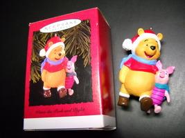 Hallmark Keepsake Ornament 1996 Winnie The Pooh and Piglet Too Christmas... - $10.99
