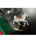Hallmark Keepsake Ornament 1989 Holly 2nd in Four Horse Carousel Series ... - $11.99