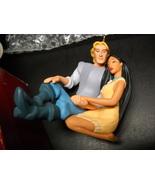 Hallmark Keepsake Ornament Pocahontas Collection Captain John Smith Poca... - $10.99