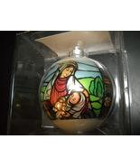 Hummelwerk Glass Christmas Ornament 1980 Madonna Child Original Transpar... - $10.99