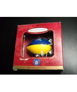 Hallmark Keepsake Ornament 1997 St Louis Rams Blimp NFL Christmas Bob Si... - $10.99