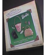 Hallmark Keepsake Ornament Barbie Accessories  Adding The Right Touch Mi... - $9.99