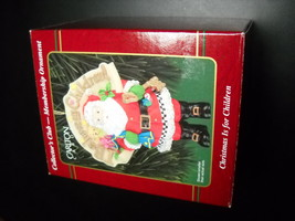 Carlton Cards Heirloom Ornament 1999 Christmas Is For Children Collector... - $10.99