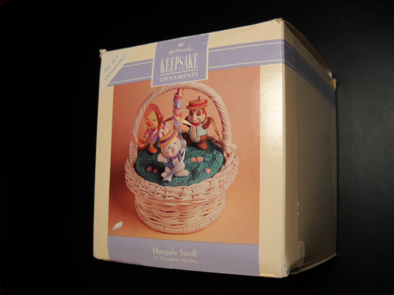 Primary image for Hallmark Keepsake Ornament Maypole Stroll 1993 Easter Collection Box Handcrafted