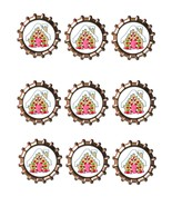 GingerBread House Bottlecap -Download-ClipArt-ArtClip-Bottle Cap-Digital - $4.00