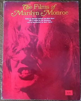 Primary image for THE FILMS OF MARILYN MONROE by Conway & Ricci (1979) Citadel Press illust. SC