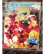 BEAD MENAGERIE #2111 WOOD BEADS CRAFT - $3.00