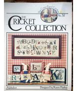 THE CRICKET ALPHABET COLLECTION #32 CROSS-STITC... - $3.00