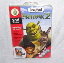 LeapPad SHREK 2 Interactive Book & Cartridge 2ND GRADE LIKE NEW! - $6.96