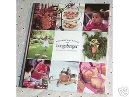 Longaberger Book Entertaining With Longaberger Cookbook New In Plastic - $14.80