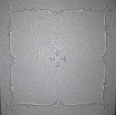 Primary image for Ceiling Tile Decorative Styrofoam Easy DIY Install Glues Up To Ceiling #R-05