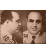 Al Capone WB Vintage 8X10 Sepia Mobster Memorabilia Photo - $4.99