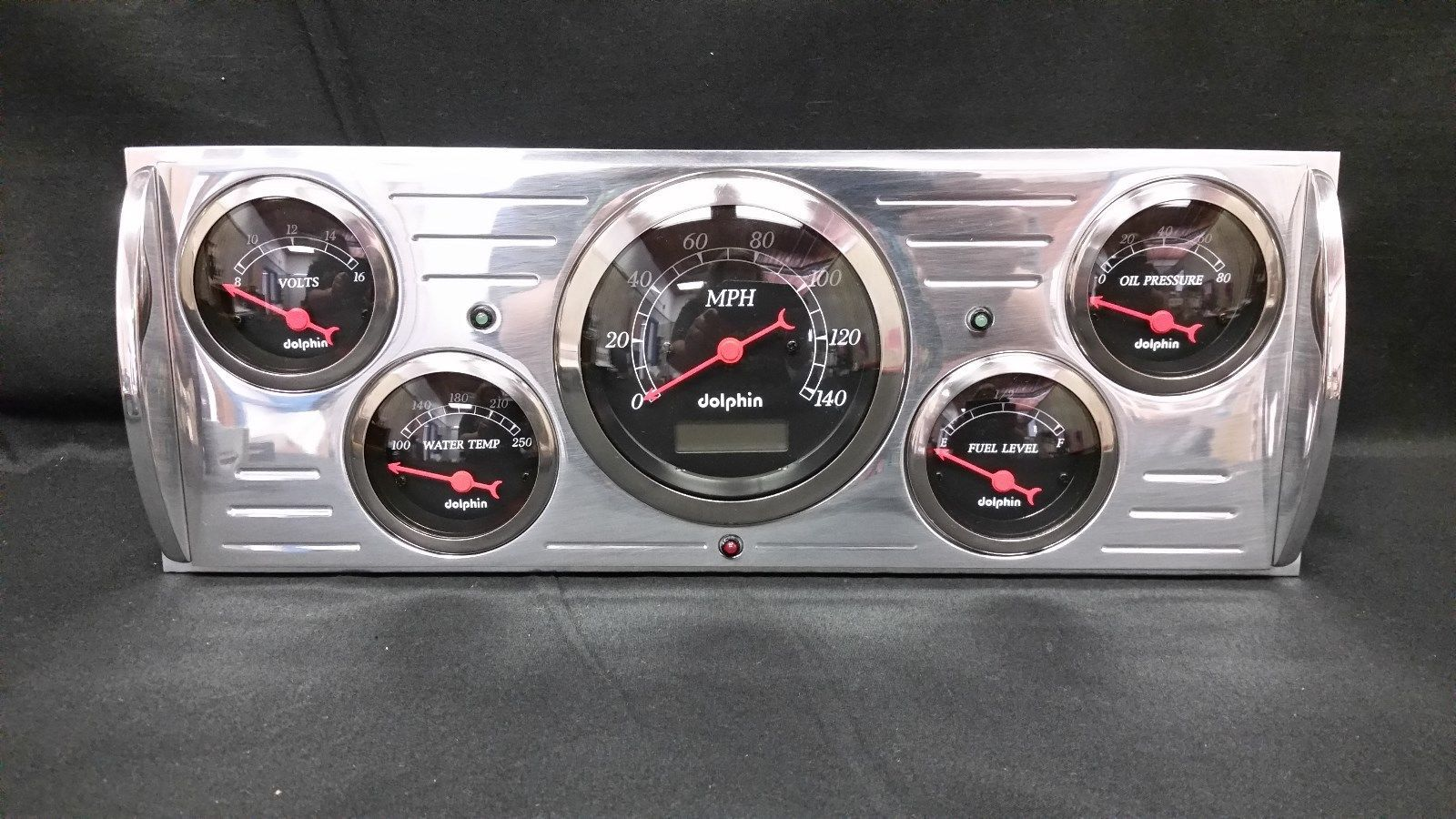 41 42 43 44 45 46 Chevy Truck 5 Gauge And 50 Similar Items 1957 Cluster Black
