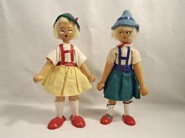 Vintage Wooden Peg Dolls - Made in Poland - Great Find! - $25.00