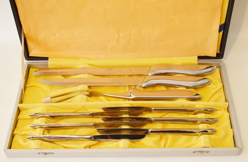 Primary image for STAINLESS STEEL 9 PIECE CARVING SET