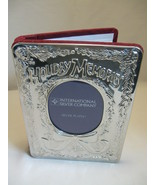 Holiday Memories International Silver Co Photo ... - $12.95