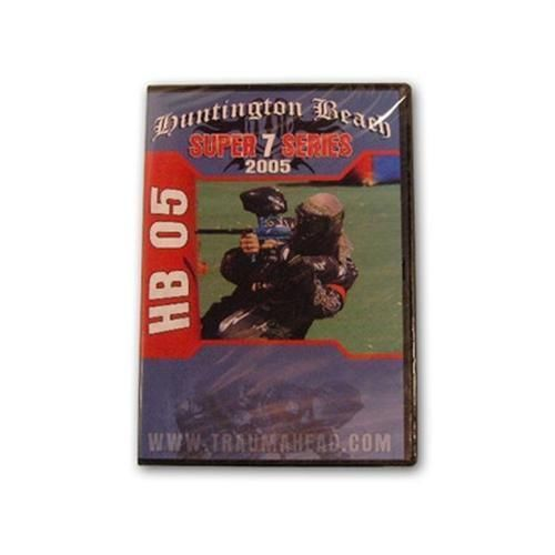 Primary image for Traumahead Sportz Huntington Beach Paintball Open 2005 DVD series 7 nppl New!