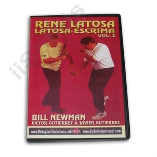 Primary image for Rene Latosa Escrima Arnis Stick Cane Knife Sword Palm Stick Fight #2 DVD Newman