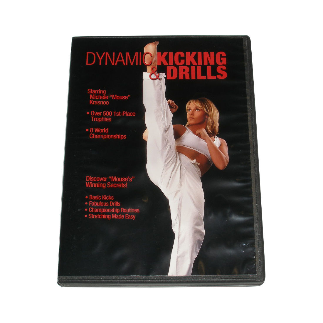 Primary image for Dynamic Karate Kicking & Drills DVD Michele Mouse Krasnoo