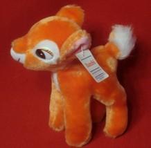Bambi Deer Plush Toy Tag Small Soft Baby Walt Vintage Disney Stuffed White Tail - $16.78