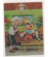 Disney Pinochhio Gepetto JC Whale  3d Lenticular Print - $21.28