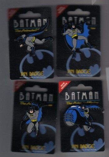 Primary image for Batman Flying Running on batbike made In England UK European 4 pins pin/pins
