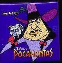Disney  Pocahontas John Ratcliffe w/ Percy Pug button never sold Pin/Pins - $7.74