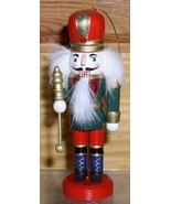 Nutcraker King  red  Christmas 4 inches tall Ornament - $14.50