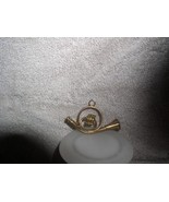French horn a Musical Instrument metal ornament - $12.59