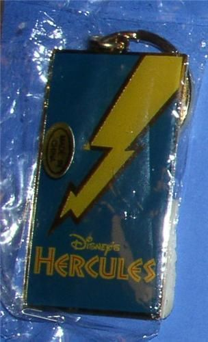 Primary image for Hercules metal Walt Disney key chain