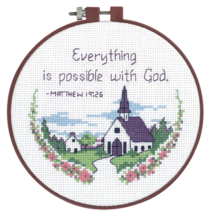 CLEARANCE Everything Possible Learn-A-Craft Beginner Counted Cross Stitch Kit  - $3.00