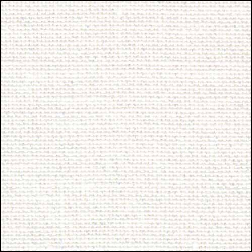 White Opalescent 32ct Belfast linen Evenweave 36x55 cross stitch fabric Zweigart
