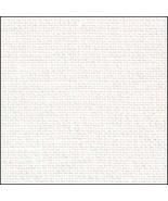 White Opalescent 32ct Belfast linen Evenweave 36x55 cross stitch fabric ... - $72.00