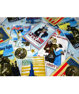 Patriotic Poster Magnetic Shell Slipcover Interchangeable Cover Classic ... - $32.99