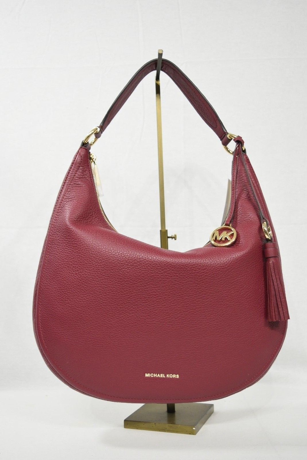927c67e65959 NWT Michael Kors Lydia Large Leather Hobo and 50 similar items