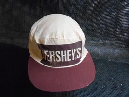 Old Vtg HERSHEY'S Men's HAT Painters Baseball Cap Candy Advertising Choc... - $19.79