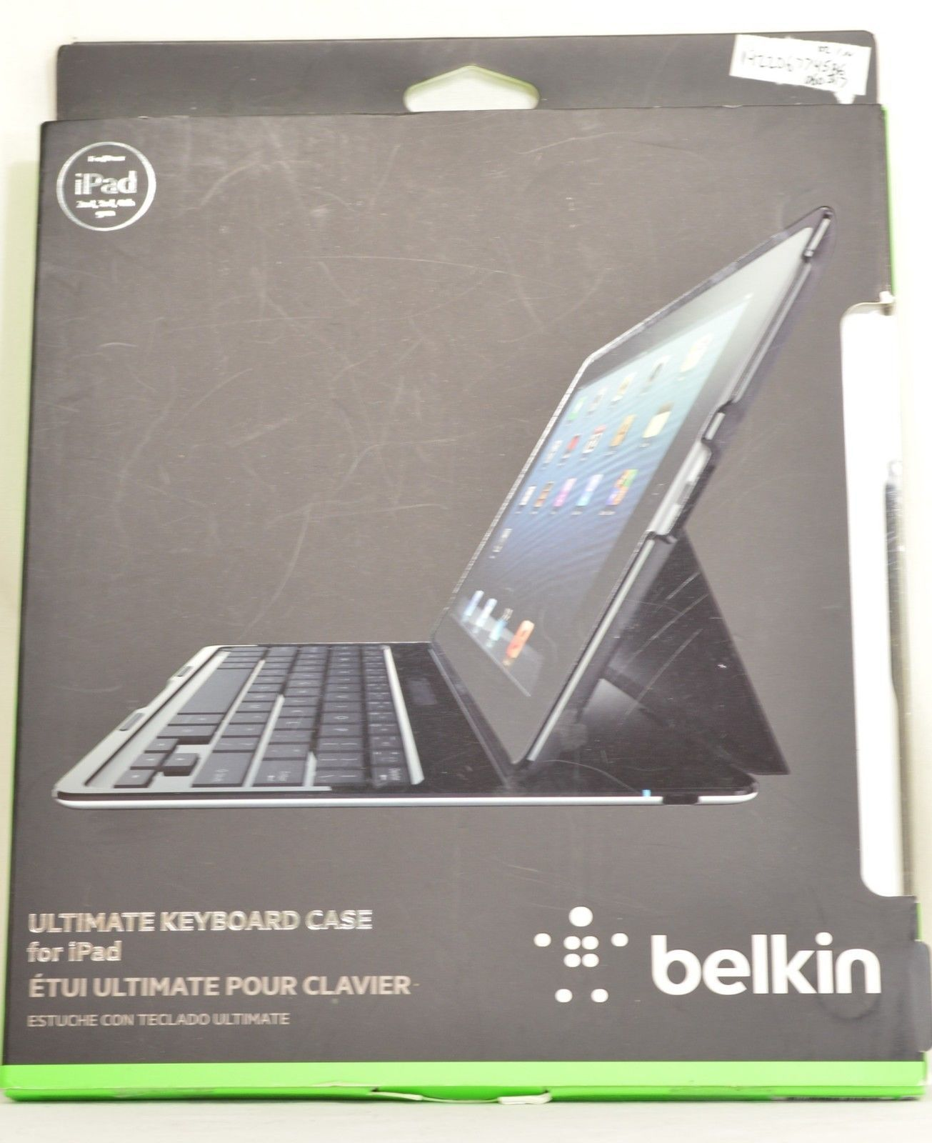 Belkin Ultimate Keyboard Case for iPad 2nd 3rd 4th generation iPad