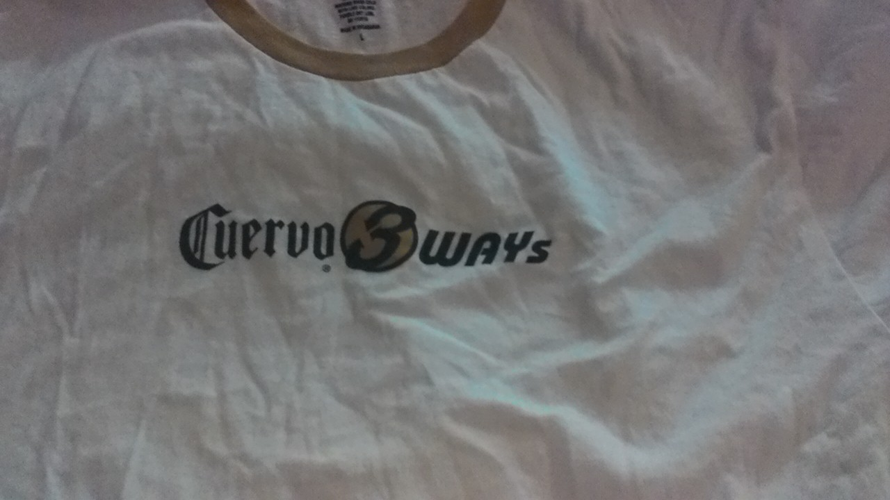 Primary image for NWOT -Mens  Size L Cuervo  3 Way SS Sleeve T-Shirt