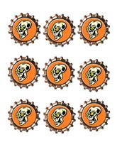 Skull2 Bottlecap -Download-ClipArt-ArtClip-Bottle Cap-Digital - $2.00