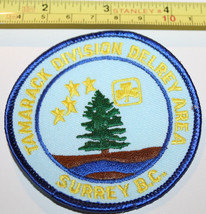 Girl Guides Tamarack Division Delrey Area Surrey BC Canada Badge Label P... - $8.17