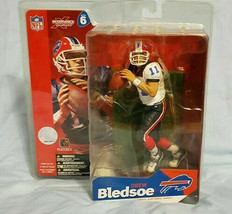 2003 Buffalo Bills Drew Bledsoe NFL Series 6 Mcfarlane Figure White Jersey - $11.30