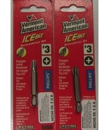 Vermont American 16433 #3 Phillips Iso-Temp Claw Power Screwdriver Bits ... - $1.65