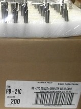 Vermont American 3mm Straight Carbide Router Bit 6mm Shank RB-21C USA - $5.00