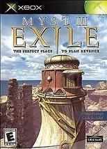 Myst III: Exile  (Xbox, 2002) *USED* - $11.87