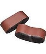 Porter-Cable 712411802 2-1/2-Inch by 14-Inch Exp 180G Belt 2 Pack - $2.80