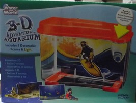 Penn Plax WW3D2 Water World 3D Adventure Aquarium With LED Light - €9,03 EUR