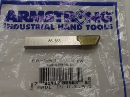 Armstrong Tools - 86-563 - Ground-to-form Tool Bit Cutter USA - $6.80