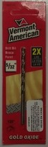 "Vermont American 12160 5/32"" Gold Oxide Drill Bit - $1.25"